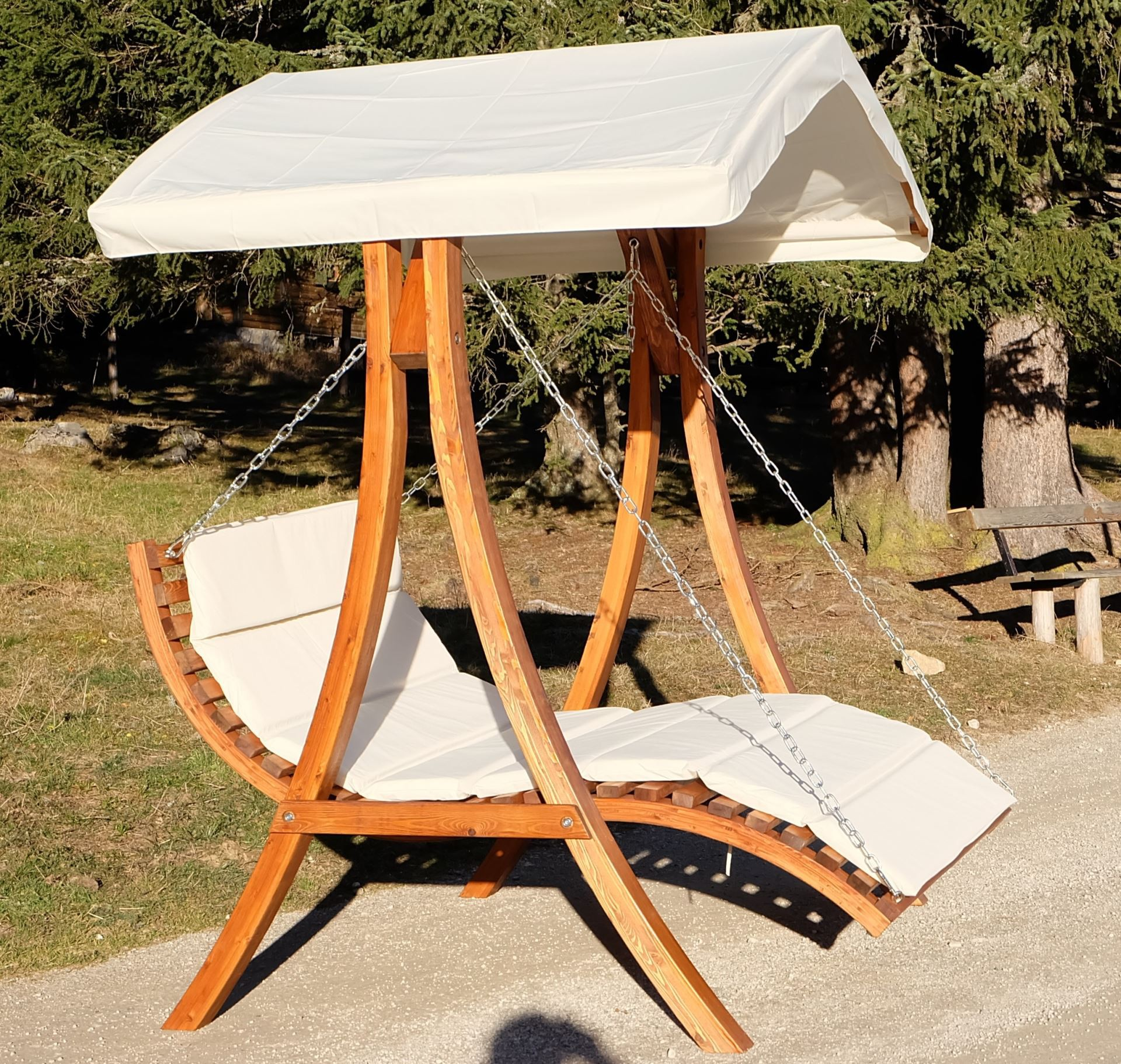 hollywoodschaukel gartenschaukel hollywoodliege. Black Bedroom Furniture Sets. Home Design Ideas