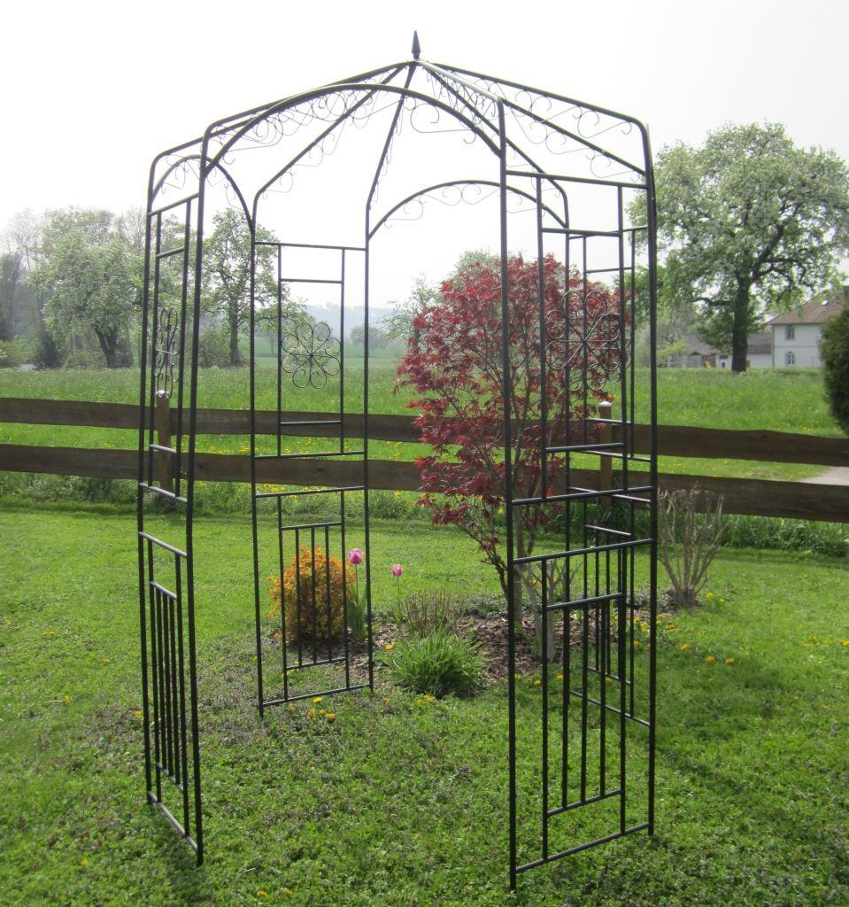 eleganter xxl rosenbogen pergola rosenbogen rankhilfe mod. Black Bedroom Furniture Sets. Home Design Ideas