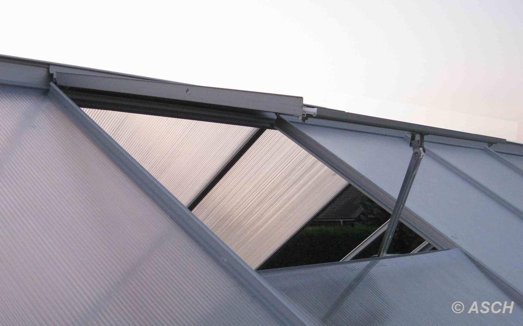 7 05m alu gew chshaus 6mm stegplatten mit stahlfundament und 2 fenster ebay. Black Bedroom Furniture Sets. Home Design Ideas