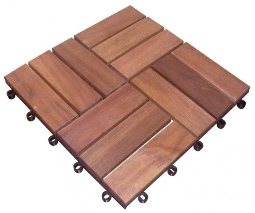 5m holzfliese holzfliesen terrassenfliese akazie holz. Black Bedroom Furniture Sets. Home Design Ideas
