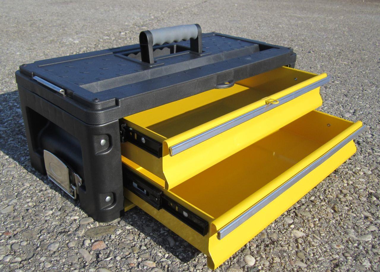 werkzeugtrolley materialbox werkzeugkiste werkzeugkoffer erweiterung f trolley m 2 laden. Black Bedroom Furniture Sets. Home Design Ideas