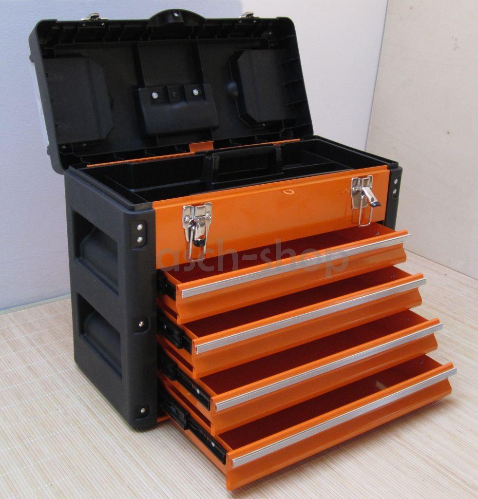 metall werkzeugkasten werkzeugkiste werkzeugkoffer. Black Bedroom Furniture Sets. Home Design Ideas