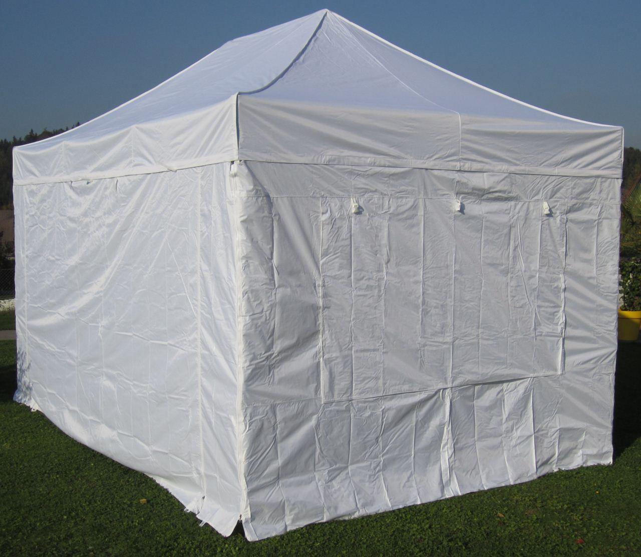3x4 5m profi faltzelt marktzelt marktstand tent 50mm hex alu mit metallgelenken und. Black Bedroom Furniture Sets. Home Design Ideas